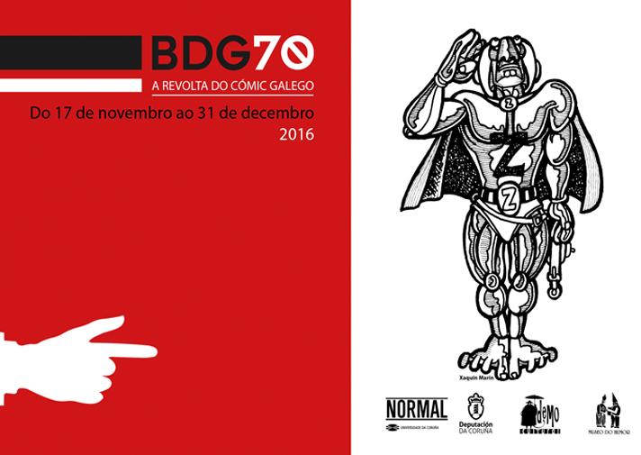 Exposicón Banda Deseñada Galega en la década de los 70